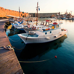 Sunrise in the old port of Rhodes | by Maciej - landscape.lu