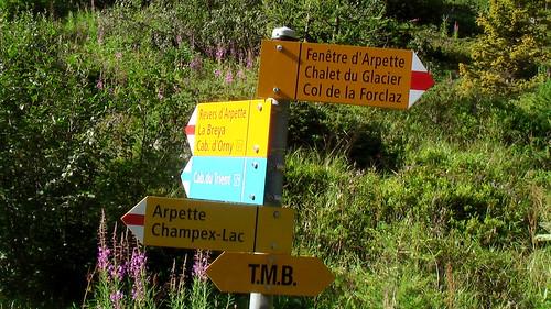 Tour de mont blanc fenetre d 39 arpette once down in the for Fenetre d arpette