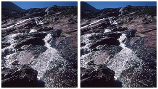Rushing stream in Glacier 3 3D | by turbguy - pro