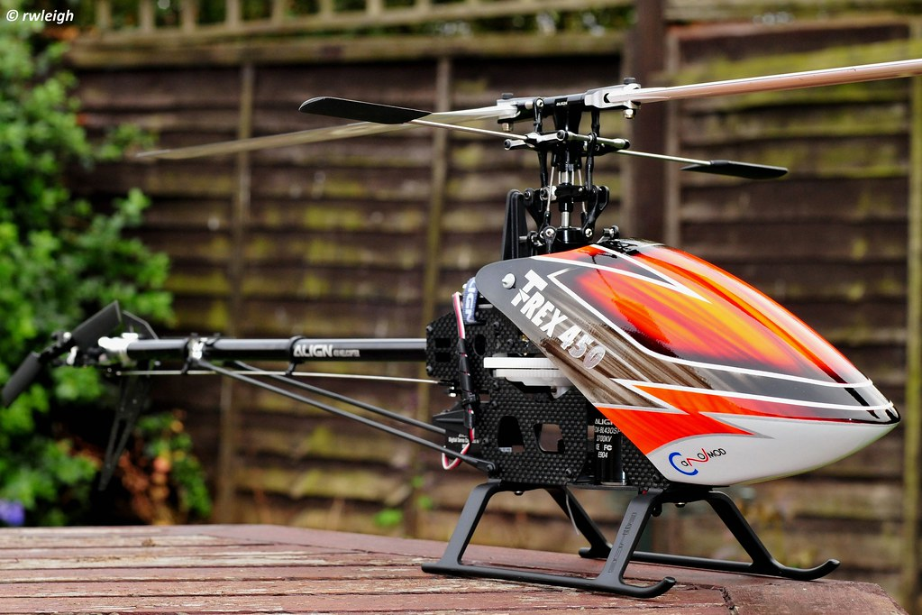 by rwleigh Align Trex-450 Pro RC helicopter. | by rwleigh & Align Trex-450 Pro RC helicopter. | A photo of my Align Trexu2026 | Flickr