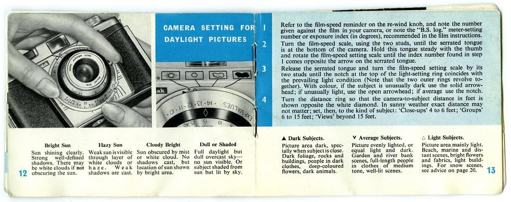 colorsnap 35 instruction booklet flickr rh flickr com kodak auto colorsnap 35 manual Vintage Kodak 35 Camera