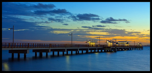 Woody Point Jetty at Dusk_1& | by Sheba_Also 11.8 Millon Views