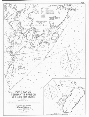 Port Clyde [and] Tennant's Harbor and Monhegan Island, Maine. | by uconnlibrarymagic