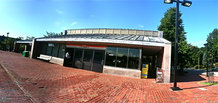 Green Street MBTA Station Panorama with iPhone 3GS | by stevegarfield