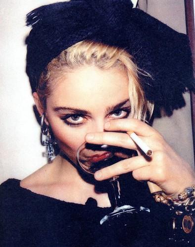 Pud Whacker's Madonna Scrapbook: Madonna circa 1981