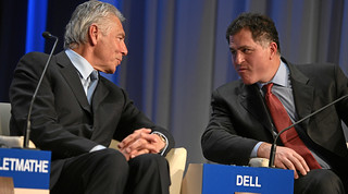 Peter Brabeck-Letmathe, Michael S. Dell - World Economic Forum Annual Meeting Davos 2009 | by World Economic Forum