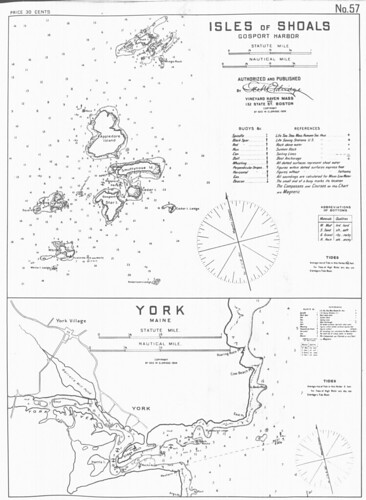 Isles of Shoals, Gosport Harbor [and] York, Maine | by uconnlibrariesmagic