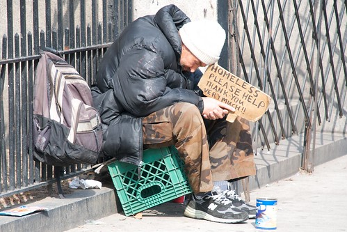 Homeless and hungry | by Ed Yourdon