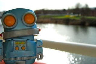 Robot on the Taff | by JohnGreenaway