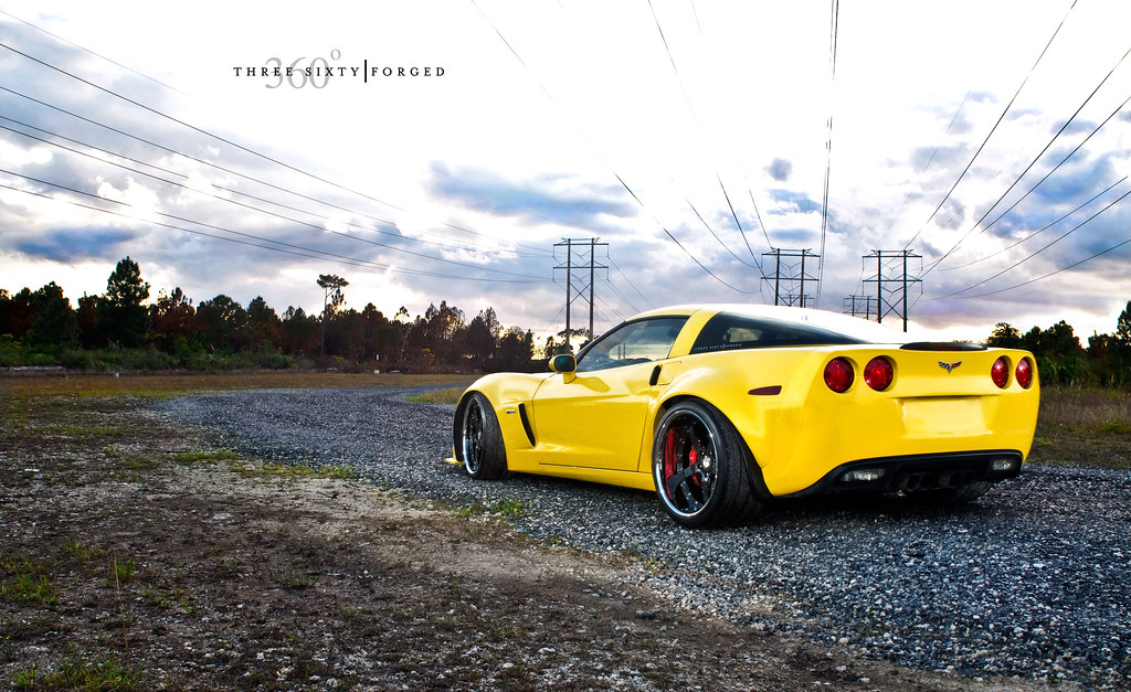 Widebody Corvette Z06 On 360 Forged Cf 5 360 Forged Flickr