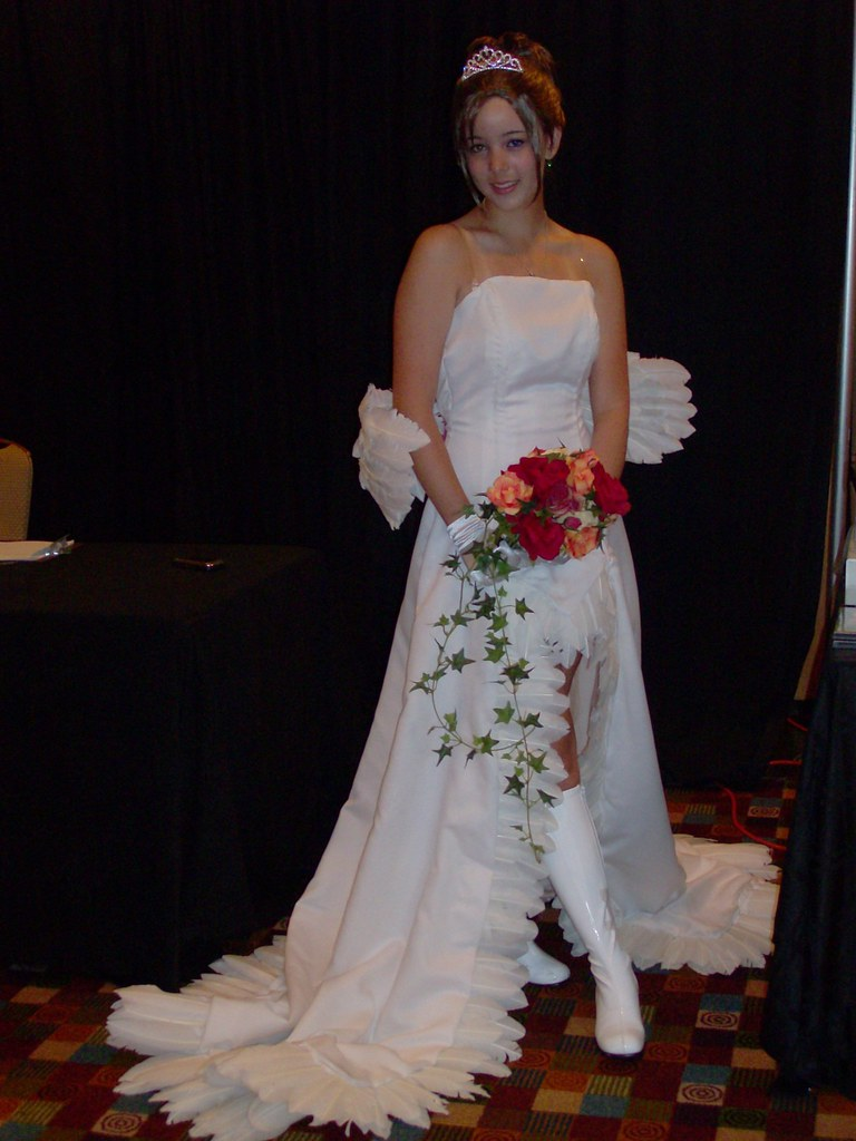 219 Yuna Wedding Gown Final Fantasy X Dragoncon 2009 Flickr