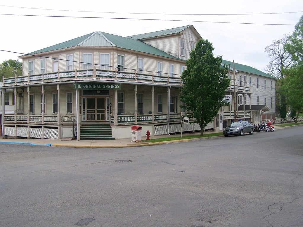 Original Springs Hotel Okawville Il Nrhp 78001194 In 1 Flickr