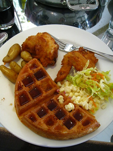 Ad Hoc Chicken and Waffles | toybot studios | Flickr