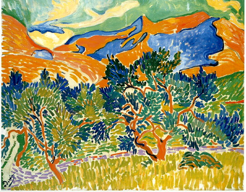 Derain, Andre (1880-1954) - 1905 Mountains at Collioure | by RasMarley