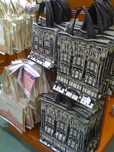 A Harrods bag, costs more than whatever Japanese carry to ...