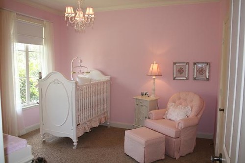 Pink Baby Room How Simple Divine Is This Room Dolly Perez Flickr