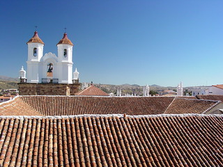 Tiled Roofs and Cathedral - Historic Center - Sucre - Bolivia | by Adam Jones, Ph.D. - Global Photo Archive