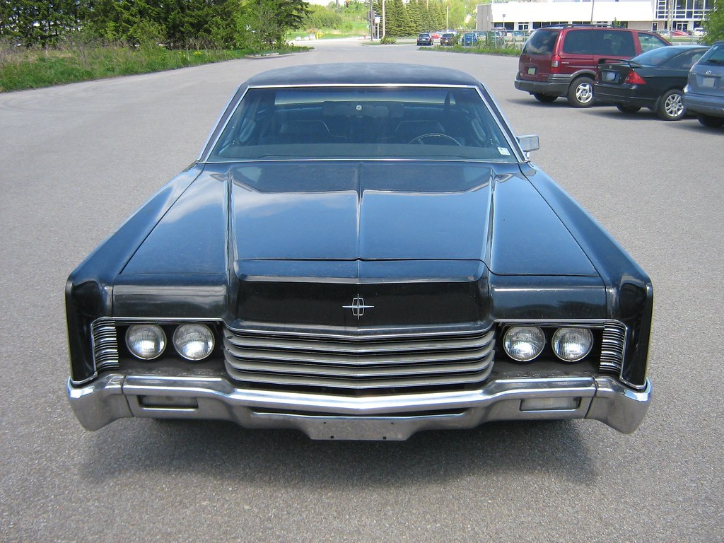 1970 Lincoln Continental Gangster Styled Gangster Car Keyw Flickr