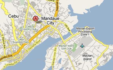 Mandaue City Cebu Vercinity Map Milton3k Flickr
