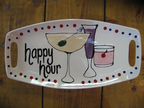 Happy Hour Cheese Tray | by Third Coast Clay!