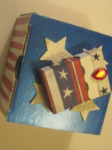 patriotic matchbox and giftbox Swapbot | by Candyn29**