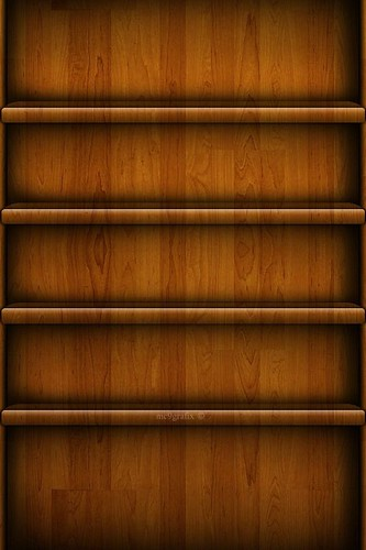 iphone wall paper wooden shelf custom made iphone ipod backgrounds 9898