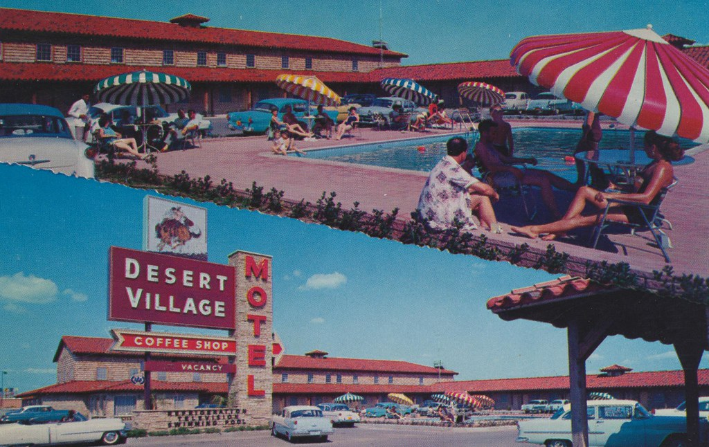 Desert Village Motel - Fort Worth, Texas