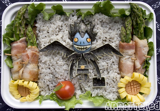 Death Note bento! | by kickintheheadcomic