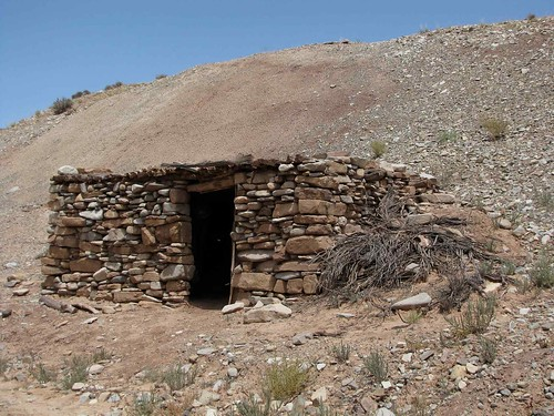 Old Rock Cabin Henry Mountains Utah Near Eagle City