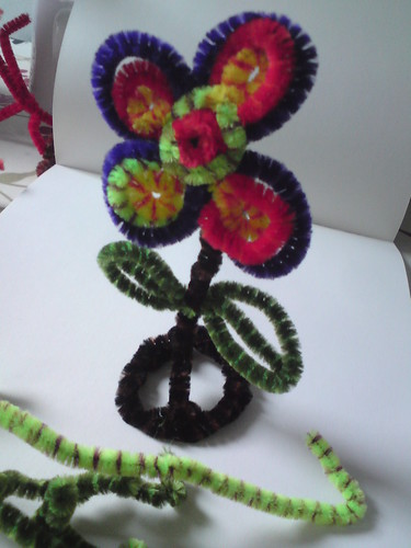 Pipe cleaner art | by Zoonie