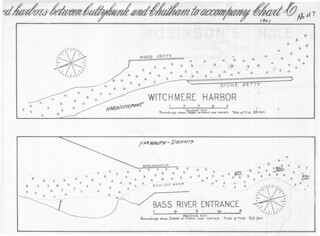 Witchmere Harbor [and] Bass River Entrance [Massachusetts] | by uconnlibrariesmagic
