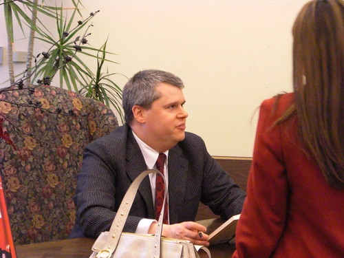 Daniel Handler at Book People | by Aaron Gustafson