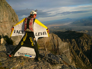 Neil's V3 Wingsuit Back | by Face Level Industries