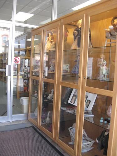 Foyer Display Cabinet : Entryway display case flickr