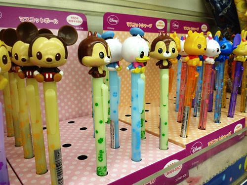 Limited Edition Disney Sarasa Pens