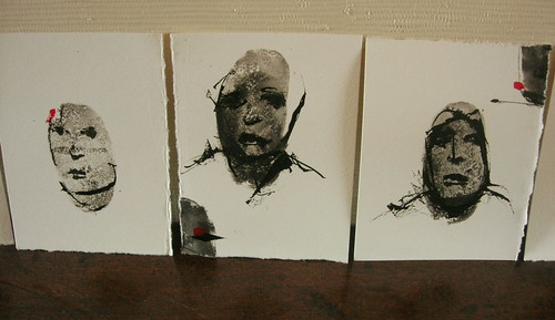 Faces (mixedmedias) 2011 | by François J DENIS §