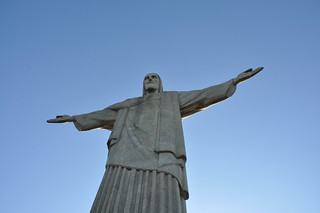 Mike Vondran at Christ the Redeemer, Corcovado, Rio de Janeiro, Brazil, December 30 2008. | by over_kind_man