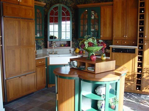 Kitchen Cabinets - CWP Williamsburg Cherry | Reico Kitchen ...