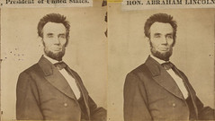 Reversed stereogram of Lincoln | by plong