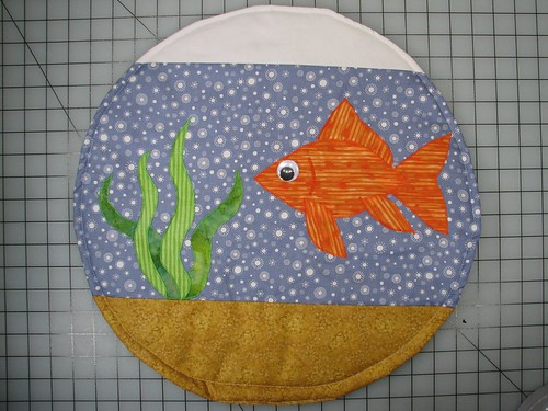 Fishbowl cat quilt27 | by 1lenore