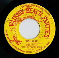 Waikiki Beach Parties label_tatteredandlost | by tattered and lost attic