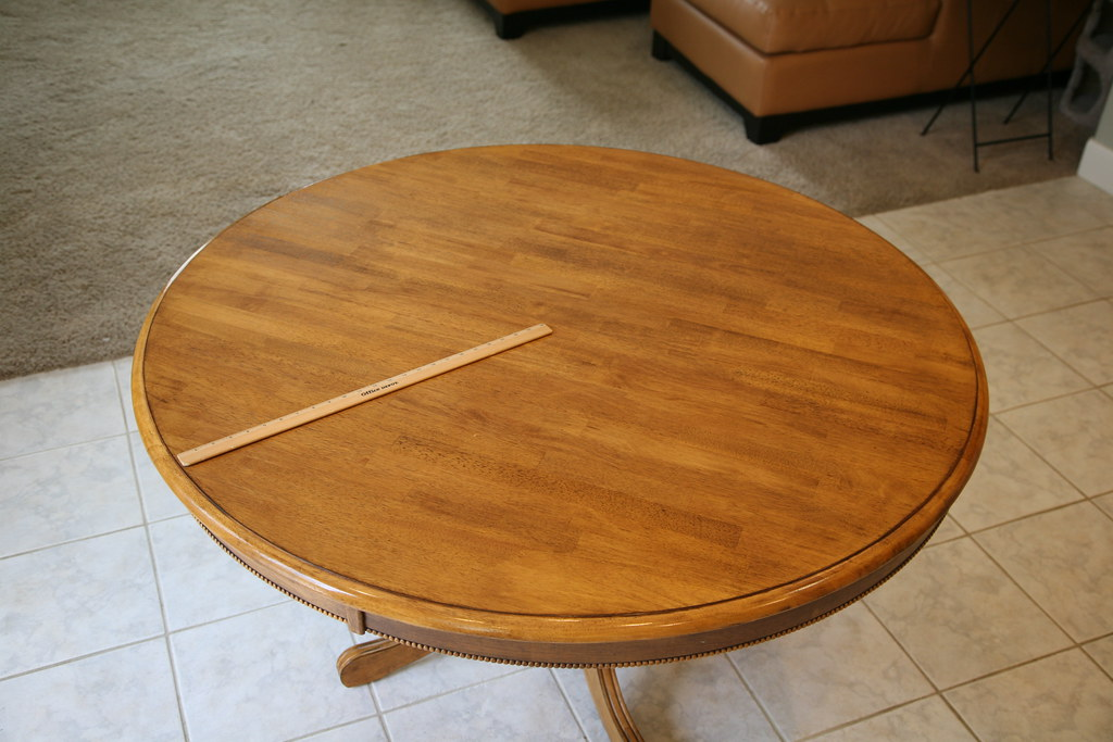 Old Kitchen Table 002 Table Is About 52 Inches In Diameter