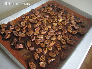 Pumpkin Mousse With Honeyed Sugar Pecans: Baked | by Dianne's Dishes