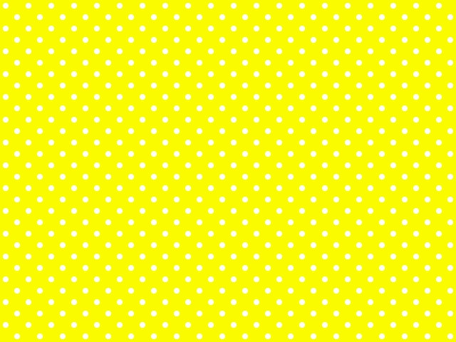 polka dotted background for twitter or other yellow by momo_mika