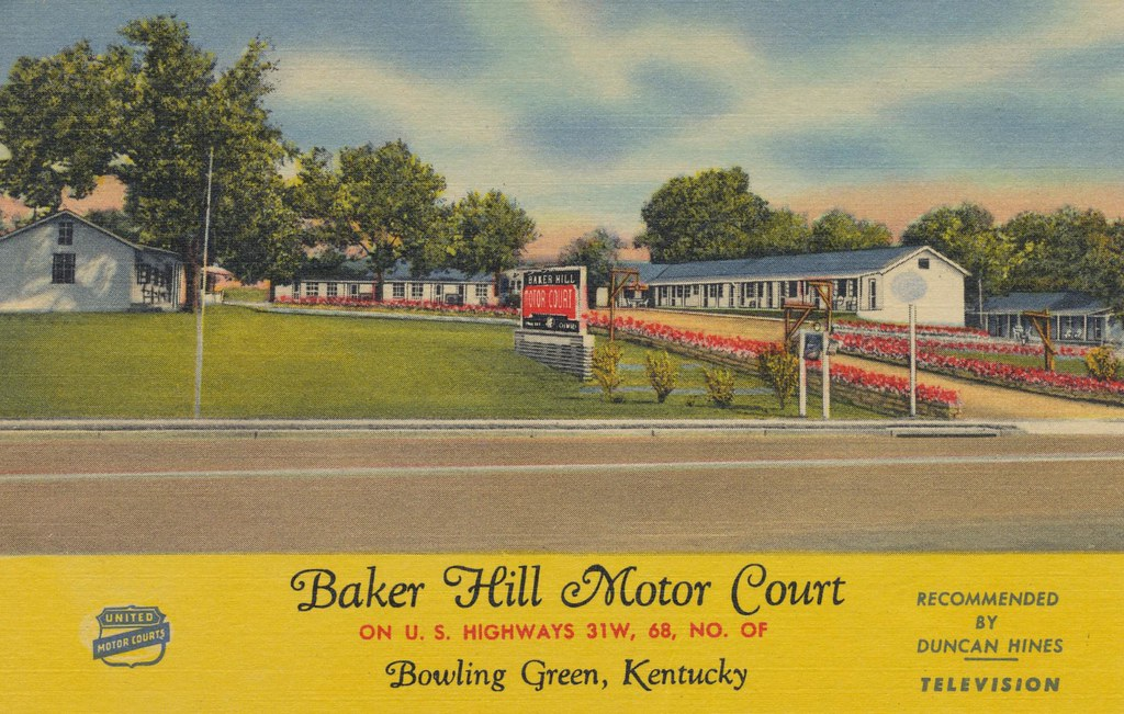 Baker Hill Motor Court - Bowling Green, Kentucky
