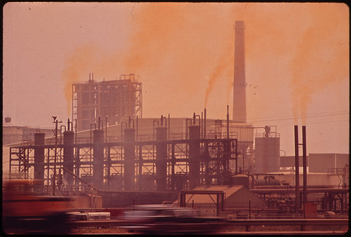Olin-Mathieson Plant Emits Sulphur Fumes 06/1972 | by The U.S. National Archives