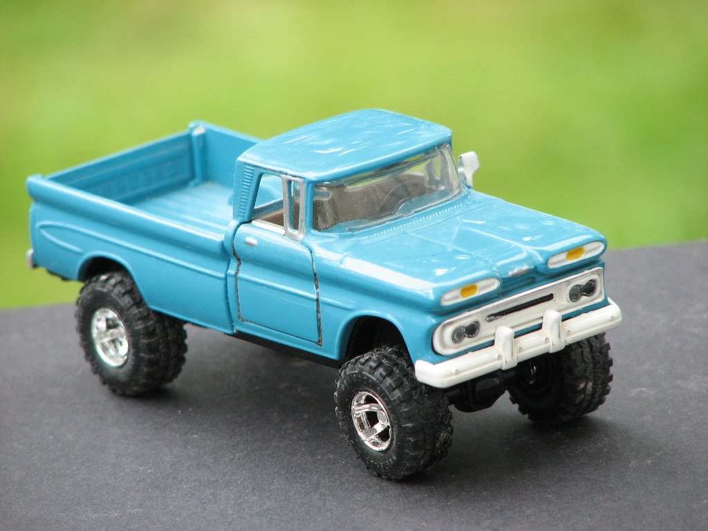 A 1 43 Scale 1961 Chevy 4x4 Truck I Repainted And Put New Flickr Pickup By Richie 59