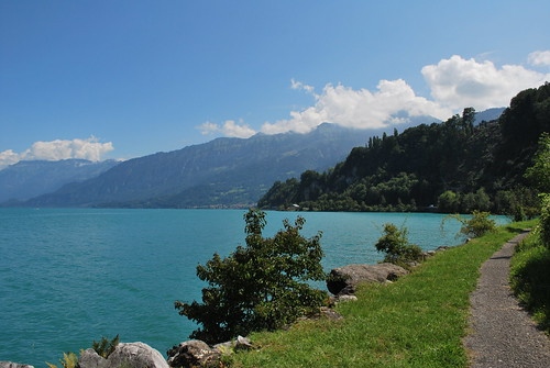 Lake Thun Cycle Path | by goingslowly