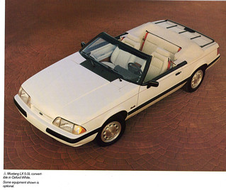 1990 Ford Mustang 5.0 LX Convertible | by coconv