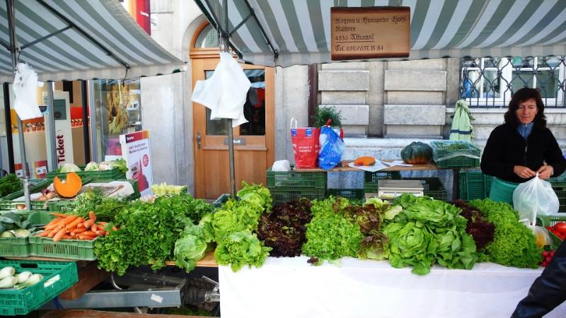 Market Day Autumn, Solothurn
